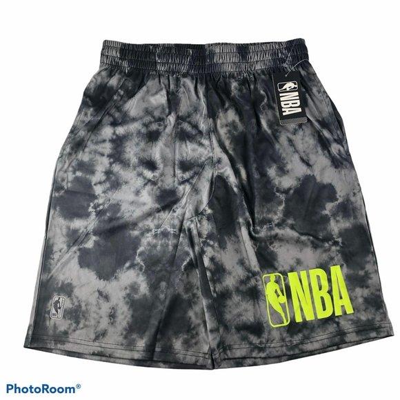 NWT NBA Basketball tie dye shorts men's size Large